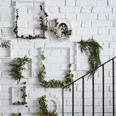 Framed Greenery - How To Hack The Holidays With IKEA - Photos