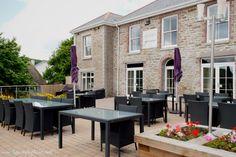 Llawnroc hotel, Cornwall. Cornwall, Patio, Places, Outdoor Decor, Wedding, Home Decor, Valentines Day Weddings, Decoration Home, Room Decor
