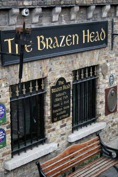 Oldest Pub The Brazen Head is the oldest pub in Dublin. Came here in 2007 and heard a cool folk band and watched a giant sing-alongThe Brazen Head is the oldest pub in Dublin. Came here in 2007 and heard a cool folk band and watched a giant sing-along Ireland Vacation, Ireland Travel, Dublin Travel, Oh The Places You'll Go, Places To Travel, Old Pub, Thinking Day, Places, Viajes