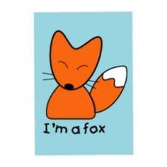 Im A Fox Magnet - Accessories