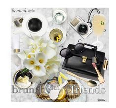 """""""Lifestyle ~ Brunch with Friends"""" by eyesondesign ❤ liked on Polyvore featuring Lifestyle and brunch"""