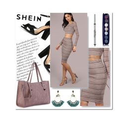 """""""SHEIN 6"""" by aidaaa1992 ❤ liked on Polyvore featuring Marc Jacobs, Peter Thomas and Atelier Mon"""