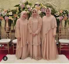 Dress Maxi Formal Inspiration Ideas For 2019 Trendy Dresses, Modest Dresses, Bridesmaid Dresses, Wedding Dresses, Dress Brokat Muslim, Muslim Dress, Hijab Dress Party, Hijab Style Dress, Kebaya Dress