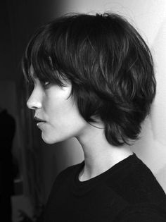 no fuss short hairstyle. Growing out a pixie