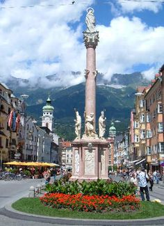 Innsbruck - Austria.  Vacationed in this beautiful village for a week.  1973