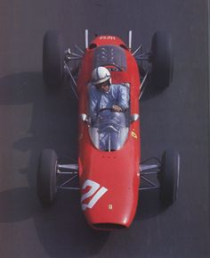 1964 GP Monaco (John Surtees) Ferrari 158