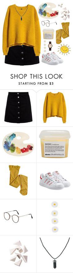 """make art, be art"" by amsyes ❤ liked on Polyvore featuring H&M, Fishs Eddy, Davines, J.Crew, adidas Originals, Monsoon, Bobbi Brown Cosmetics, Nixon and Mikimoto"