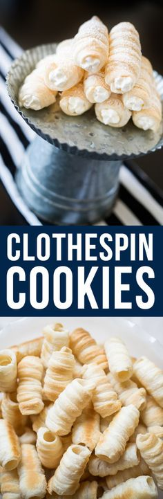 Clothespin Cookies