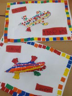 Tapa de Gaudi Kids Art Class, Art For Kids, Crafts For Kids, Gaudi Mosaic, Mosaic Art, Arts Barcelona, Jr Art, Art Worksheets, Artists For Kids