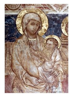 Madonna by Cimabue icon