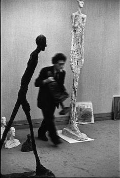 Alberto Giacometti by Henri Cartier-Bresson, Maeght gallery, Paris, France, 1961 © Henri Cartier-Bresson – Magnum Photos