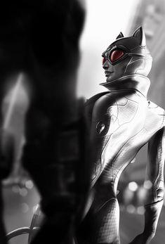 Arkham City Artwork - Catwoman