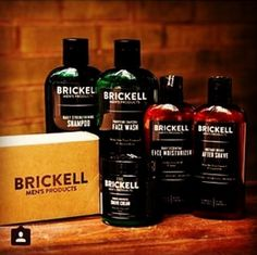 Men deserve the best ingredients in their skin care products too. Brickell combines organic and high quality ingredients to formulate the best men's skin care and grooming products a man can put on his body. #handsome #natural #organic