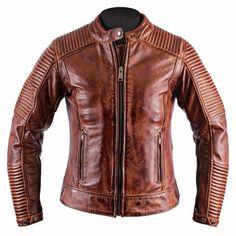 Femme classique brando motard cruiser véritable peau d/'agneau rock /'n/' roll veste en cuir