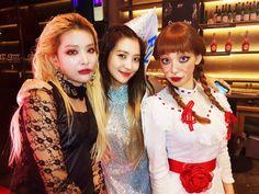 Seulgi, yeri y taeyeon Exo Red Velvet, Red Velvet Seulgi, Kpop Girl Groups, Kpop Girls, Shinee, Irene, Halloween Party, Halloween Costumes, Halloween 2018