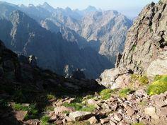 Paysage de la montagne corse ( Haute Corse)