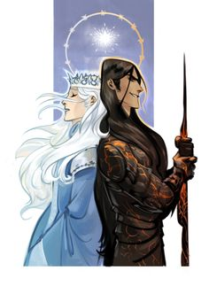 Brothers. Manwe and Melkor.