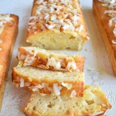 Toasted Coconut, Coconut Cream, Homemade French Bread, Quick Bread Recipes, Baking Tins, Pina Colada, Sweet Bread, Sandwiches, Bakery