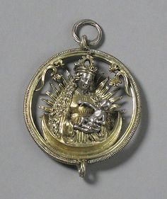 Pendant with Virgin and Child  Date: early 16th century Geography: Made in, Nuremberg, Germany Culture: German