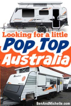 If you're specifically looking for a pop top caravan here in Australia this is the post for you. We've compiled a list of all the Australian caravan manufacturers that build small pop tops. These little guys are perfect for storing in the garage or carport, are lightweight, and the reduced profile makes them easier to tow. Check out these Australian pop top caravans here. #poptopcaravans Small Caravans, Caravans For Sale, Vintage Caravans, Vintage Travel Trailers, Glamping, Vintage Caravan Interiors, Travel Trailer Interior, Pop Top Camper