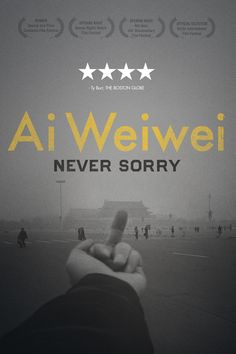 "Ai Weiwei - ""Never Story"". Documentary on the Chinese artist Ai Weiwei."
