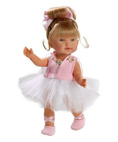 Beautifully crafted with vibrant eyes and realistic clothes, this ballet baby girl is an adorable companion for little ones and features movable joints for added fun. Not for children under 3 years Baby Doll Play, Baby Dolls For Kids, Boy Doll, Barbie Nutcracker, Bff, Ballet Clothes, Doll Clothes, Ballet Shoes, Fabric Roses