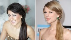 Taylor Swift's AMA's Figure Eight Braided Ponytail