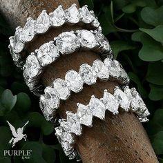 Feel the elegance with these gorgeous Eternity band ring with diamonds by @chatila #purplebyanki #diamonds #luxury #loveit #jewelry #jewelrygram #jewelrydesigner #love #jewelrydesign #finejewelry #luxurylifestyle #instagood #follow #instadaily #lovely #me #beautiful #loveofmylife #dubai #dubaifashion #dubailife #mydubai #Band #Eternity Dubai Fashion, Eternity Bands, Diamond Bands, Band Rings, Wedding Bands, Fine Jewelry, Jewelry Design, Elegant, Purple