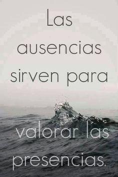 #Frases Las ausencias