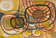 Gustav Bolin - Labyrinthe rouge #gallery #art #abstraction #paris #pfgarcier