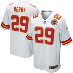 Eric Berry Kansas City Chiefs Nike Youth Game Jersey – White