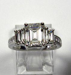 My dream!  Iconic Style376ct Estate Vintage Emerald Cut by TreasurlybyDima, $19250.00