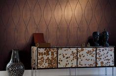 "Dining Room accent wall =Carl Robinson Edition 3 ""Carlos"" wallpaper"