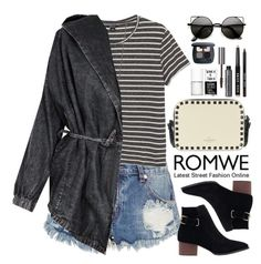 """""""Romwe"""" by oshint ❤ liked on Polyvore featuring One Teaspoon, Monki, Alexis Bittar, Valentino, Bobbi Brown Cosmetics, Uslu Airlines, Bare Escentuals and romwe"""