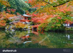 Autumn At Daigoji Temple In Kyoto, Japan Foto d'archivio 232677916 : Shutterstock
