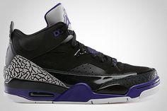 Jordan Son of Mars Low – Black / Grape Ice | KicksOnFire