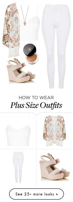 """Untitled #1323"" by lovaticstyles on Polyvore featuring Topshop, Mat, Alberto Guardiani, Pamela Love and Chanel"