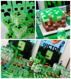 Minecraft-Birthday-Party-via-Karas-Party-Ideas-KarasPartyIdeas.com21.jpg (700×780)