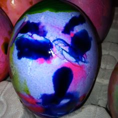 Scary Easter egg. This was a complete boo-boo, but sure is creepy!!!!