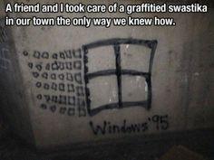 From bad to good,..nice creativity!