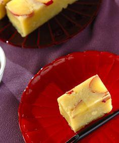芋ようかん サツマイモは炊飯器で加熱することで甘さを引き出します。手作りの和菓子は敬老の日のプレゼントにも喜ばれそうです。