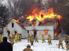 House burn today