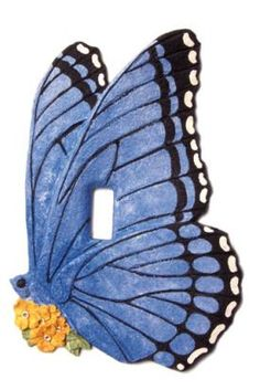 Vicki Lane Light Switch Decor Covers -Butterfly, single switch