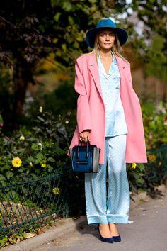 Paris Fashion Week SS15 #streetstyle #PFW
