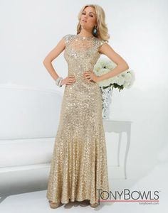 Tony Bowls Le Gala 114539 Tony Bowls Le Gala Bedazzled Bridal and Formal | Bridal Gowns, Bridal Party, Prom Dresses, Party Wear, Men's Formals