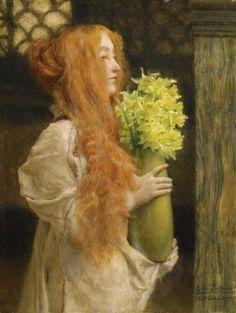 Spring Flowers, Lawrence Alma-Tadema