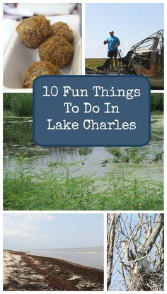 Explore 10 fun things to do in Lake Charles, LA! http://www.justshortofcrazy.com/2014/09/lake-charles-la/