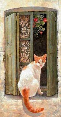 vintage cat...