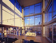 Contemporaine Chicago Penthouse