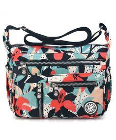 1fb06efa2a95 anti-splash water Shoulder Bag Casual Handbag Messenger bag Crossbody Bags  - 4-calla Flower - CD18895X200